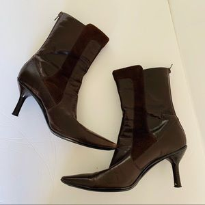 KENNETH COLE REACTION Leather Boots 7.5